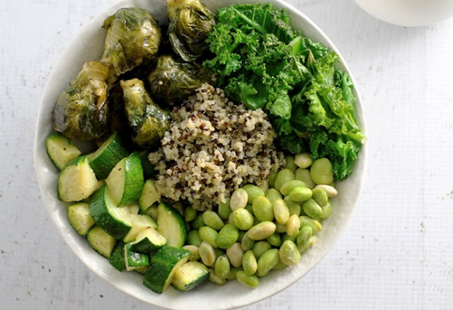 Green Goddess Bowl #vegan #healthy