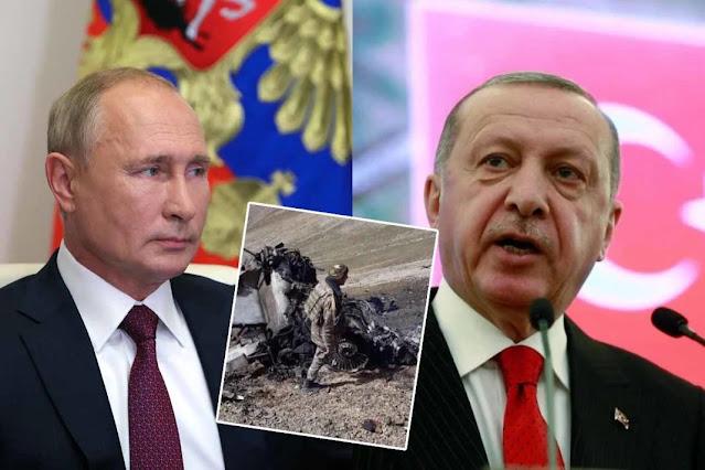 Νέα επίθεση του Ερντογάν στην Ρωσία!