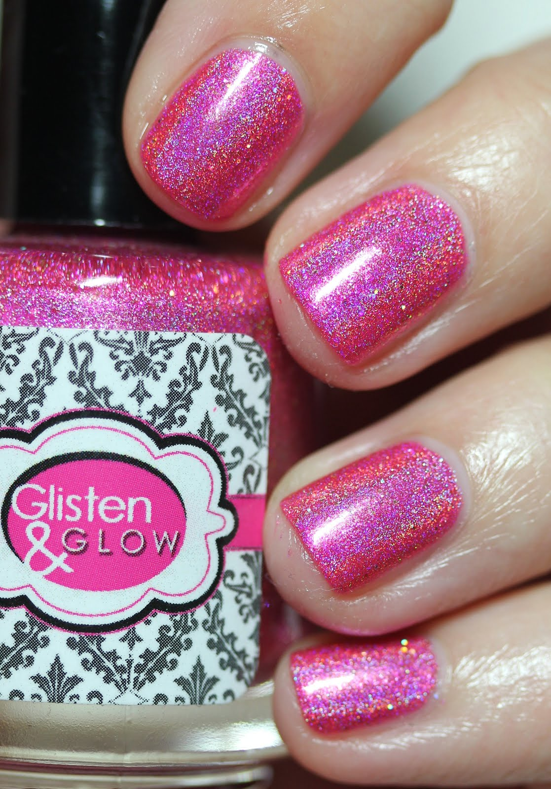 Streets Ahead Style: Glisten & Glow Pink Rock Candy The Holo Hookup ...