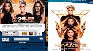 CARATULA LOS ANGELES DE CHARLIE-CHARLIE'S ANGELS 2019[COVER BLU-RAY]