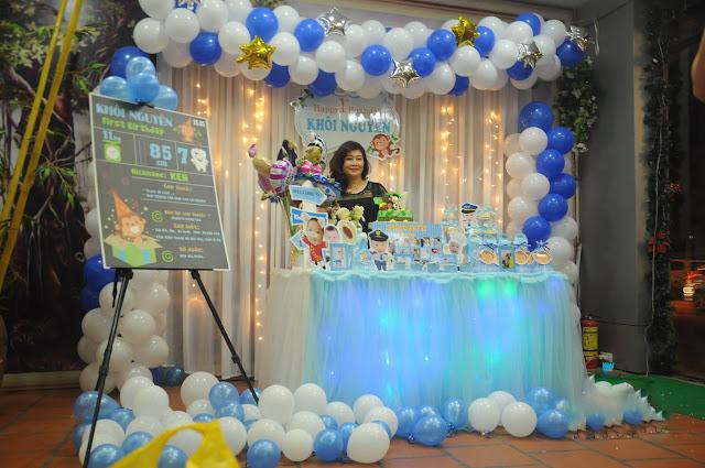 Dịch vụ trang trí sinh nhật tại Nam Từ Liêm Hà Nội