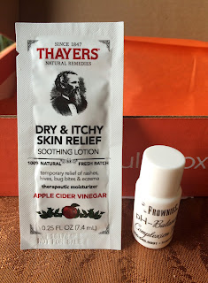 picture of thayers soothing lotion and frownies pH complexion wash