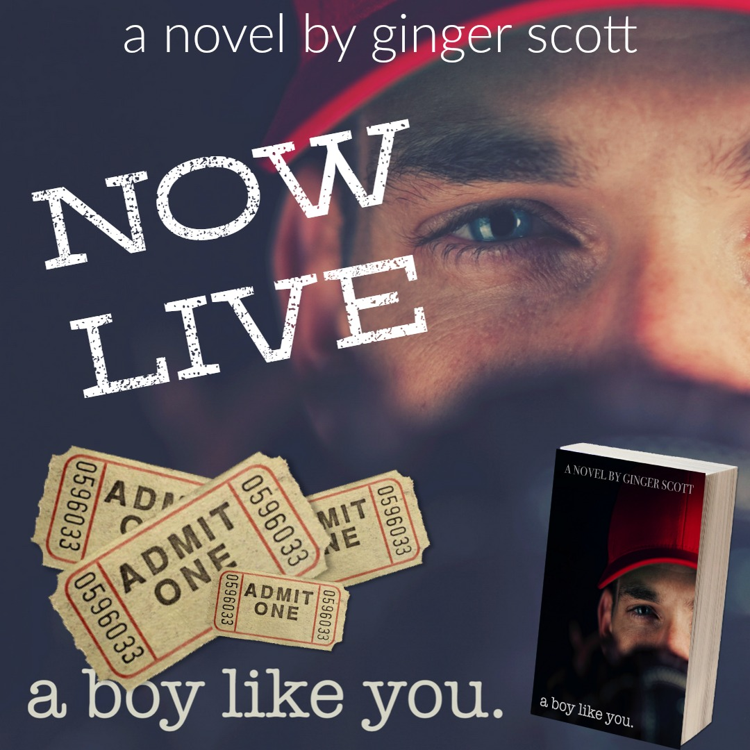 REVIEW + GIVEAWAY: A Boy Like You by Ginger Scott