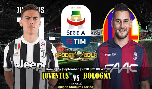 Prediksi Juventus vs Bologna 27 September 2018