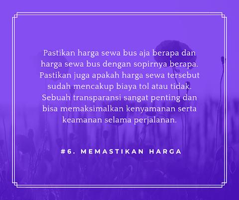 Sewa Bus Pariwisata Semarang Murah Tahun 2020