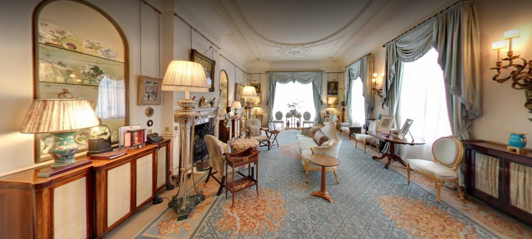 As the President of the Royal Osteoporosis Society, The Duchess of Cornwall is offering a private tour of her official London residence, Clarence House, to six people