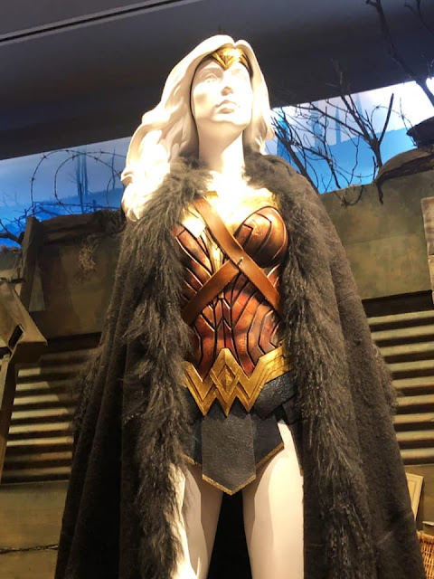 Exposition costumes Wonder Woman Studios Warner Bros Los Angeles