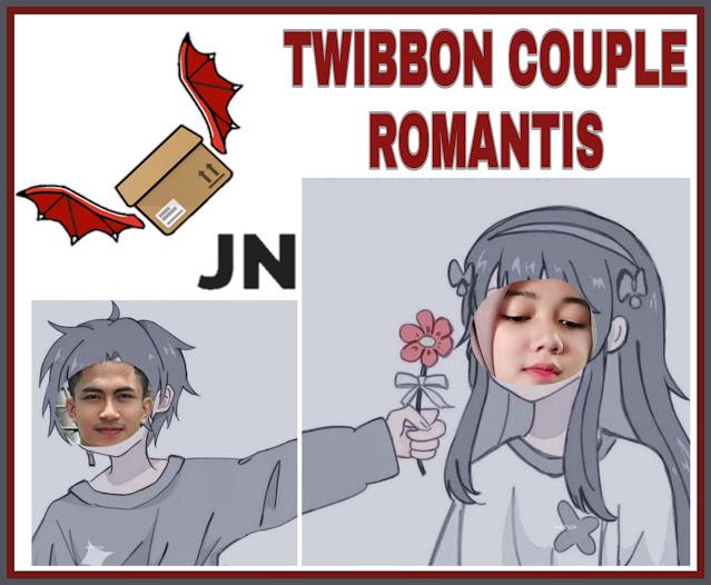 Link Download Twibbon Couple Romantis Bersama Pasangan