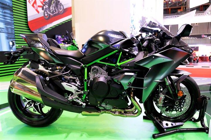 Kawasaki Ninja H2 Carbon 2020 sắp về VN - siêu môtô giá trên 1,1 tỷ