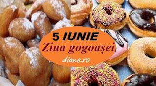 5 iunie: Ziua gogoașei