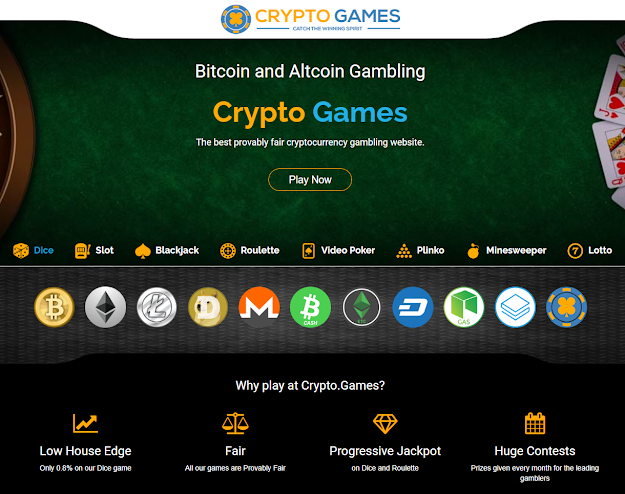 Crypto Games Review | Unlimited free faucets every 3 min