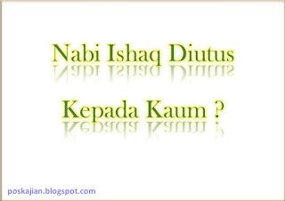 Nabi Ishaq Diutus Kepada bangsa