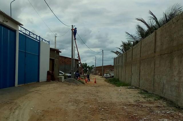 Operação desativa 30 'gatos' de energia e retira 4 mil metros de fios irregulares em cidade potiguar