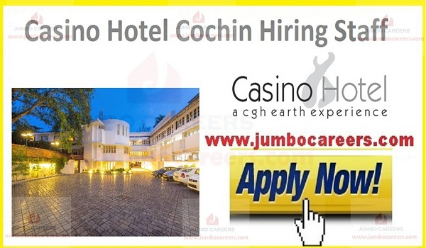 Current hotel jobs in Cochin,