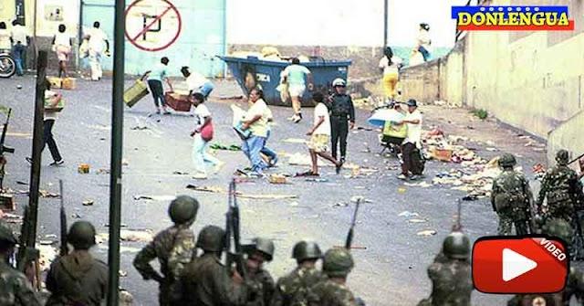 27 de Febrero de 1989 - El Sacudón de Caracas