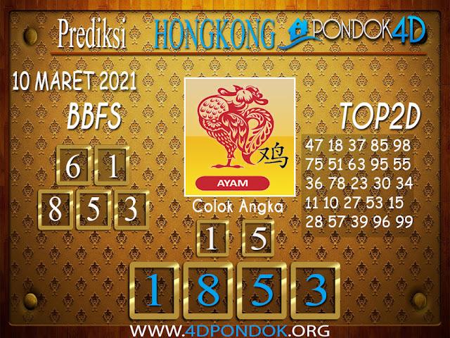 Prediksi Togel HONGKONG PONDOK4D 10 APRIL 2021