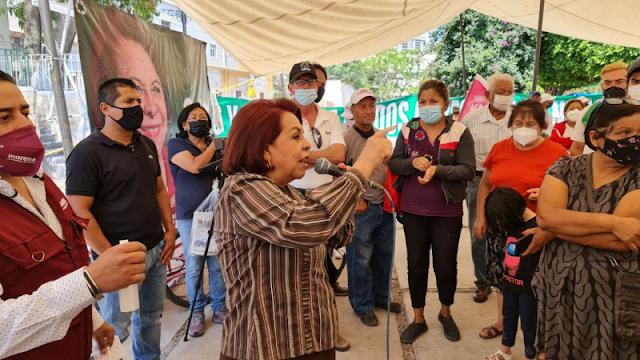Agreden a la candidata de Morena a la gubernatura de Querétaro: 10 lesionados