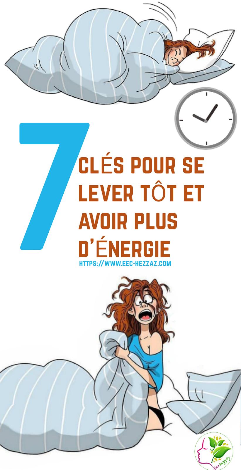 7 clés pour se lever tôt et avoir plus d'énergie