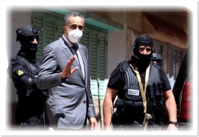 الحموشي بعطي أوامره بترقية ضابط أمن أصيب بجروح خطيرة أثناء مداهمة خلية تابعة لداعش