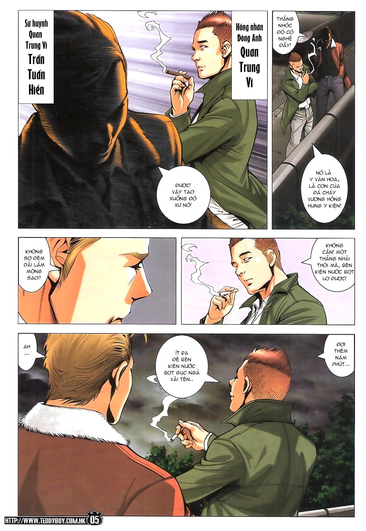 Người Trong Giang Hồ chapter 1787: hỏa thiêu trần hạo nam trang 4