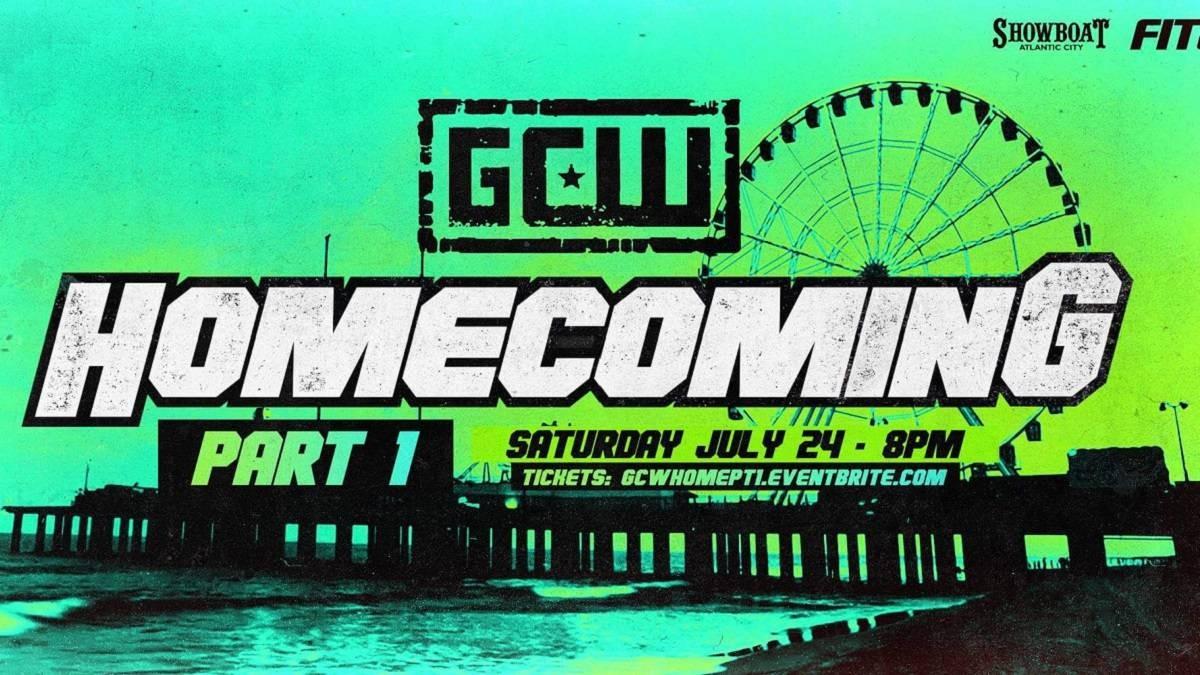 Cobertura: GCW Homecoming 2021 – Noite 1 – Ilimitado!