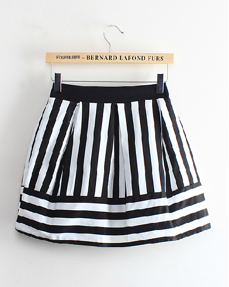 Stripped Skirt