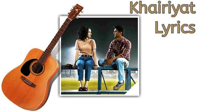 Khairiyat puchho lyrics na meri haisiyat puchho arijit singh