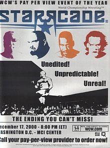 WCW Starrcade 2000 - Event poster