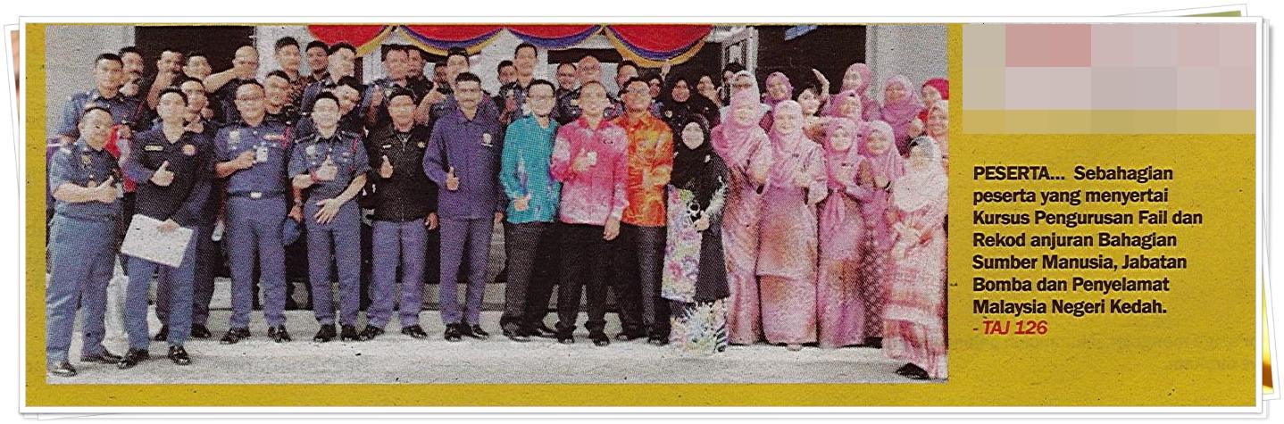 Lensa Kamera - Keratan akhbar Sinar Harian 15 Oktober 2019