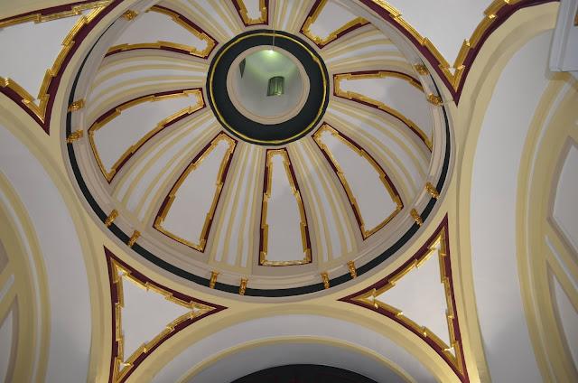 Bóveda, Cúpula de la ermita del Cristo de la Peña (Campo Real)