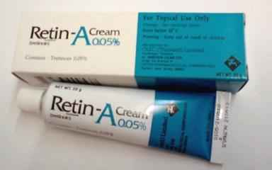 Tretinoin and Other Prescription Retinols kreme protiv bora 40+