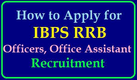How to Apply for IBPS RRB Officers , Office Assistants Recruitment 2019 How to Apply for IBPS RRB Officers , Office Assistants Recruitment 2019/2019/06/how-to-apply-for-ibps-rrb-officers-office-assistants-recruitment-www.ibps.in.html