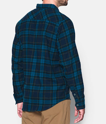 Under Armour ColdGear Borderland Flannel Long-Sleeve Shirt