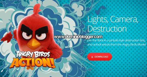Juega al nuevo Angry Birds Action gratis