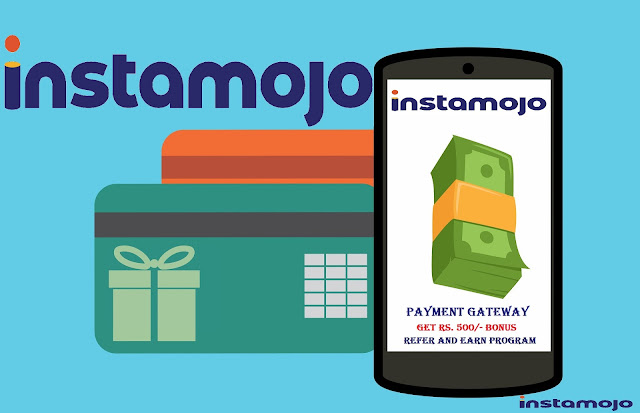 Join Instamojo and Get Rs.500/- Sign Up Bonus