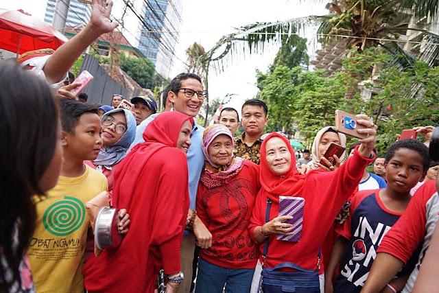 Sandiaga Pimpin Langsung Tim Ekonomi Prabowo-Sandi