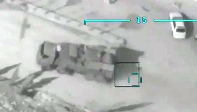 Serangan udara Turki atas Pantsir Suriah