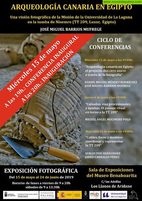 El Museo Benahoarita acoge una nueva charla en torno a los trabajos de una misión arqueológica canaria en Egipto