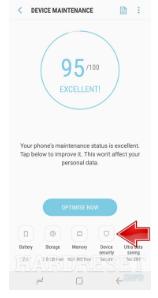 Cara Scan Virus pada Ponsel Samsung 4