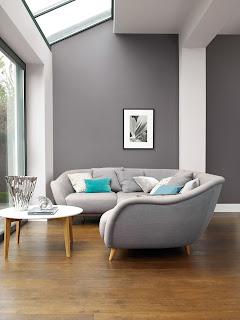 stripes living room painting ideas