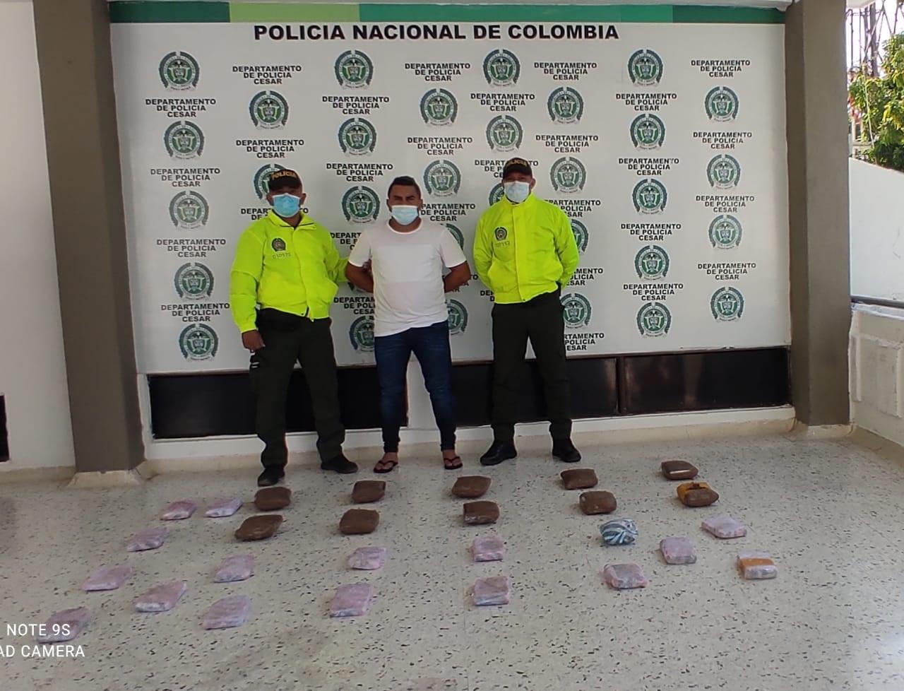hoyennoticia.com, En Valledupar sacan de circulación 14.420 dosis de marihuana