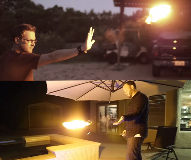 Pyro Handheld Fireshooter