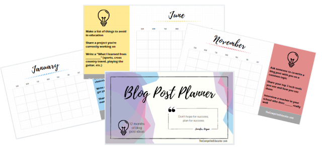 Blog-planner by @Jennifer_Hogan