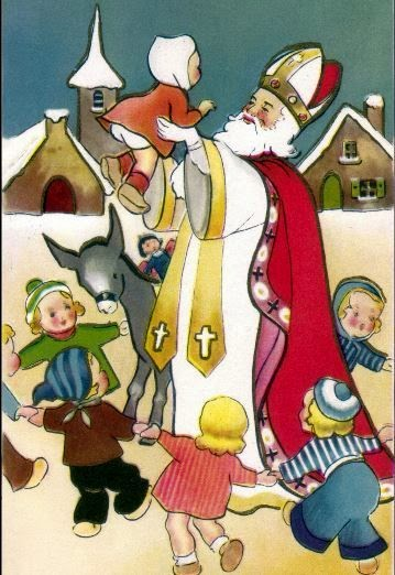 Saint Nicholas. Patron Saint Of Children
