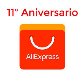 Descuentos 11 aniversario Aliexpress