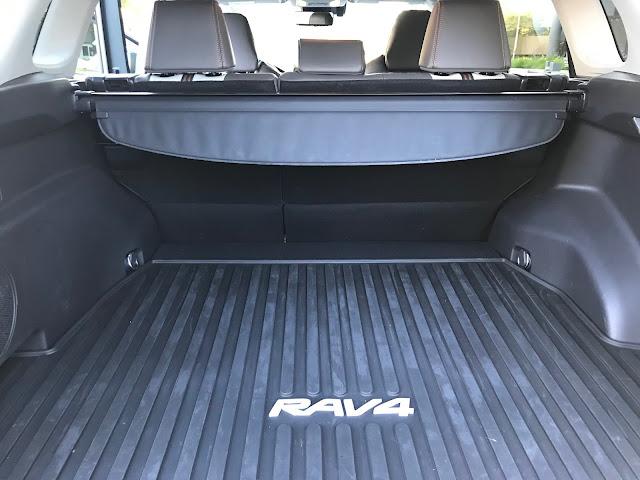 All-Weather cargo tray in 2019 Toyota RAV4 Adventure