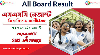 SSC result 2020 check by mobile sms