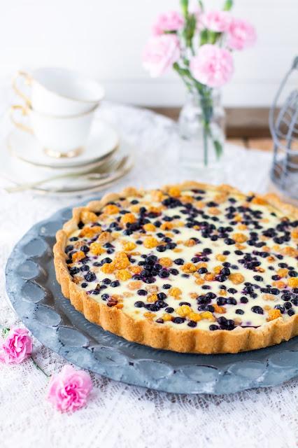 cloudberry pie