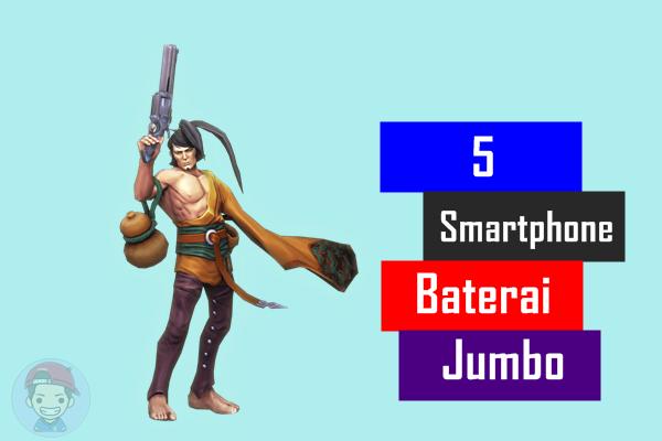 5 Smartphone Baterai Besar Dengan Harga Terjangkau