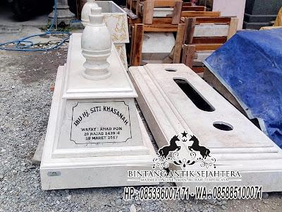 Kijing Marmer Surabaya,  Model Makam Marmer, Batu Kijing Marmer